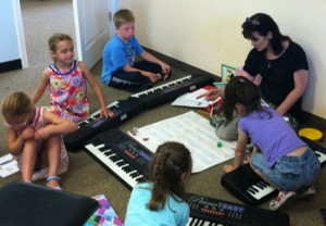 Keyboard Classes for Preschoolers